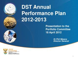 Presentation to the Portfolio Committee 18 April 2012