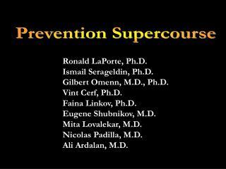Prevention Supercourse