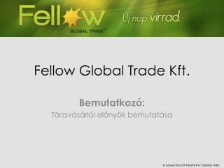 Fellow Global Trade Kft.