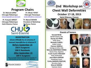 2nd  Workshop on  Chest  Wall  Deformities