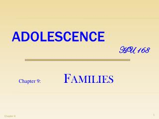 ADOLESCENCE HU 168