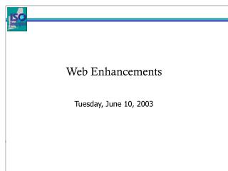 Web Enhancements