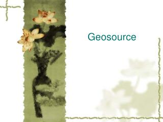 Geosource