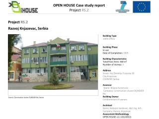 OPEN HOUSE Case  study report Project  RS.2