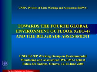 UNEP / Division of Early Warning and Assessment (DEWA)