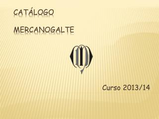 Cat�logo Mercanogalte