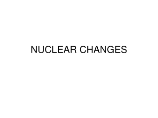 Chapter 24: Nuclear Reactions and Their Applications