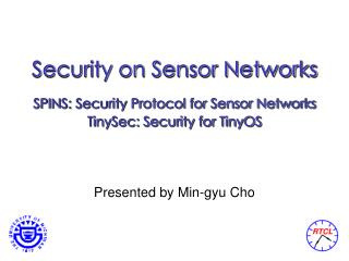 Security on Sensor Networks