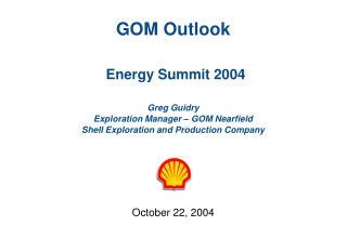 October 22, 2004