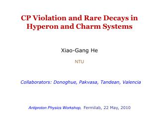 CP Violation and Rare Decays in Hyperon and Charm Systems
