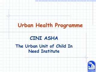 Urban Health Programme