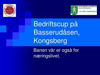 Bedriftscup p� Basserud�sen, Kongsberg
