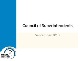 Council of Superintendents