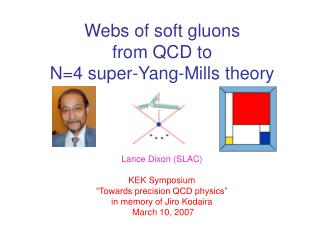 Webs of soft gluons  from QCD to  N=4 super-Yang-Mills theory