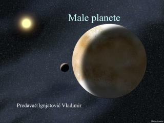 Male planete