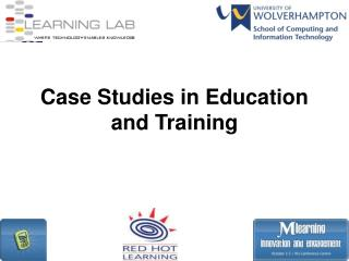 Case Studies in Education and Training