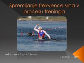 Spremljanje frekvence srca v procesu treninga
