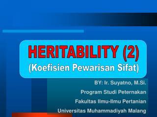 HERITABILITY (2)