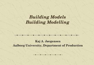 Building Models  Building Modelling