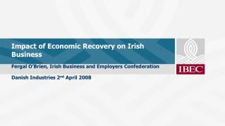 Impact of Economic Recovery on Irish Business
