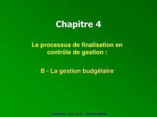 Chapitre 4