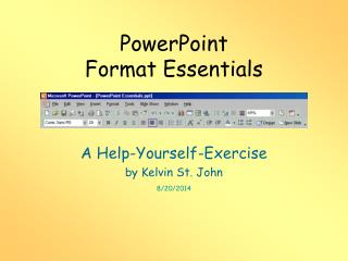 PowerPoint Format Essentials