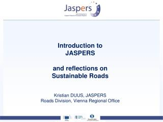 JASPERS overview