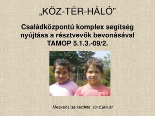 """""""KÖZ-TÉR-HÁLÓ"""""""