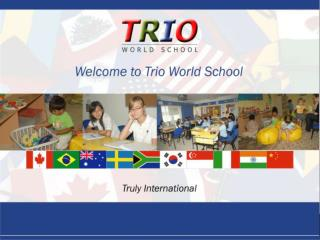 Trio World School bangalore