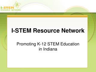I-STEM Resource Network