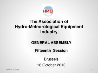The Association of Hydro-Meteorological Equipment Industry