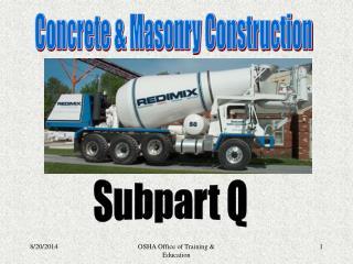 Subpart Q