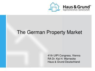 The German Property Market