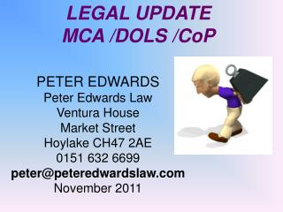 PETER EDWARDS Peter Edwards Law Ventura House Market Street Hoylake CH47 2AE 0151 632 6699