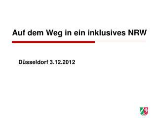 Auf dem Weg in ein inklusives NRW