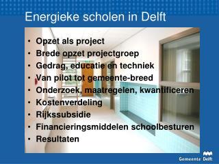 Energieke scholen in Delft