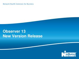 Observer 13 New Version Release