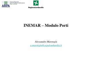 INEMAR – Modulo Porti