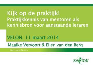 Maaike Vervoort & Ellen van den Berg