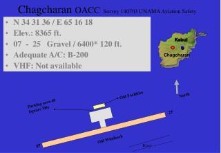 Chagcharan  OACC Survey 140703 UNAMA Aviation Safety