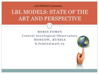 LBL MODELS: STATE OF THE ART AND PERSPECTIVE
