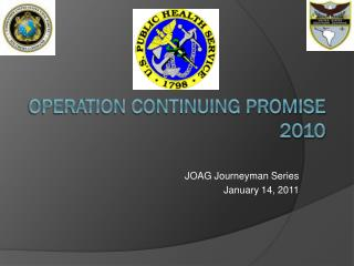Operation Continuing Promise 2010