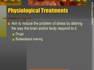Physiological Treatments