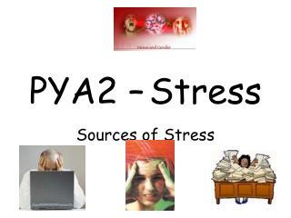 PYA2 – Stress
