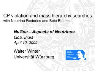 CP violation and mass hierarchy searches  with Neutrino Factories and Beta Beams