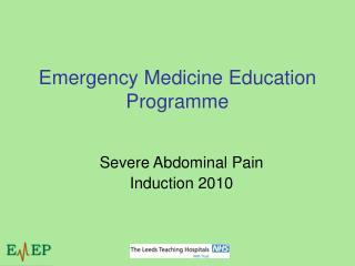 Emergency Medicine Education Programme