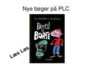 Nye bøger på PLC