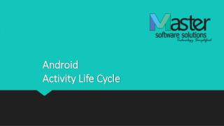 Android life cycle