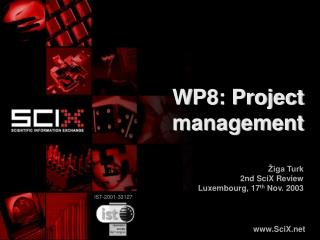 WP8: Project management