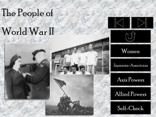 The People of  World War II